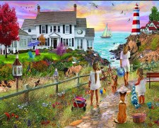 Beach Path - 1,000 Piece Puzzle