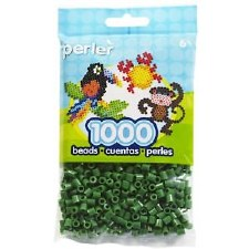 Perler Beads 1000 piece- Dark Green