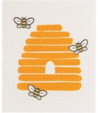 Swedish Dishcloth- Bees