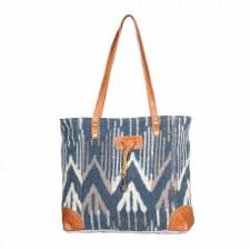 Myra Tote Bag- Beholden Blue