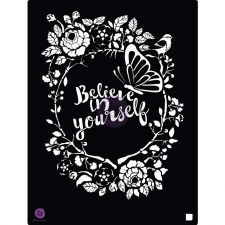 Prima Marketing 8x10 Stencil- Believe In Yourself