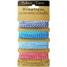 Hemptique Bakers Twine- Berrylicious