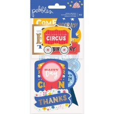 Big Top Dreams Ephemera Die Cuts- Phrases