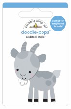Down On The Farm Doodle-Pops Stickers- Billy Goat