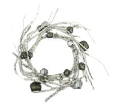 Birch Grey Bell Candle Ring Di