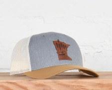 Birchwood Snapback Hat-Birch/C