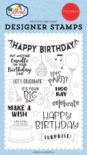 Let's Celebrate Clear Stamp Set- Birthday Surprise