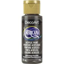 Americana Acrylic Paint, 2oz- Browns: Bittersweet Chocolate