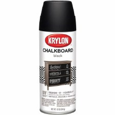 Chalkboard Spray, 12oz- Black