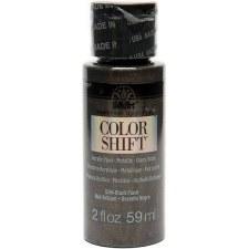 FolkArt Color Shift Metallic Acrylic Paint, 2oz- Black Flash