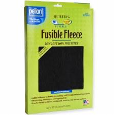 "Fusible Fleece, 22"" x 36""- Black"