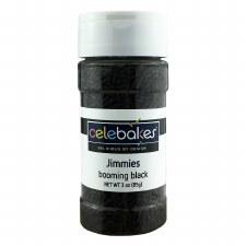 Jimmies Sprinkles, 3.2oz- Black