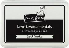 Lawn Fawn Premium Dye Ink- Black Licorice