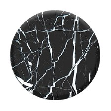 PopSockets- Marble, Black