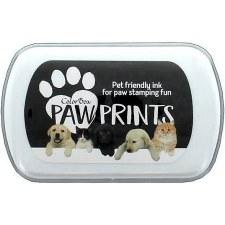 Paw Prints Pet Friendly Ink- Black