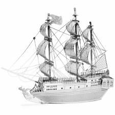Metal Earth 3D Metal Model Kit- Black Pearl Ship