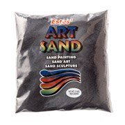 Estes' Art Sand, 2lb Bag- Black