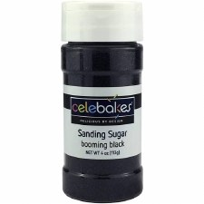 Sanding Sugar, 4oz- Black