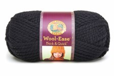 Wool Ease Thick & Quick Yarn- Black
