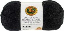 Touch of Alpaca Yarn- Black