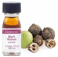 Oil Flavoring, 1fl dram- Black Walnut