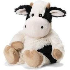 Warmies Cozy Plush: Cow, Black & White