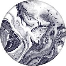 Popsockets- Black & White Marble