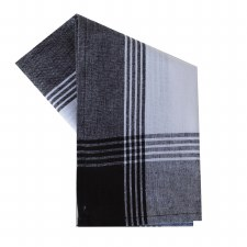 "McLeod Stripe 20""x28"" Tea Towel- White & Black"