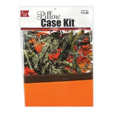 Pillowcase Kit- Camo & Blaze Orange