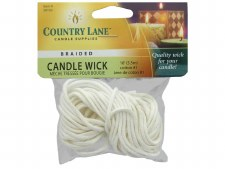 Candle Wicks #1 Braided 18ft