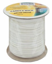 Country Lane Candle Wick Square Braid 150' Spool