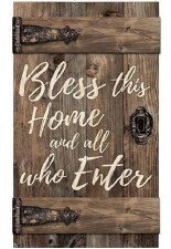 Pallet Decor- Bless This Home and All Who Enter