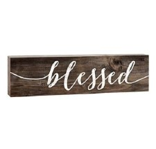 Pallet Decor- Blessed