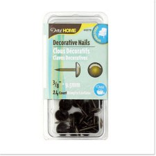"Dritz Home Upholstery Tacks 3/8""- Burnished Gold"
