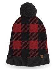 Great Northern Buffalo Check Pom Toque- Ladies