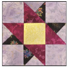 Enchanted Floral Quilt Block of the Month- Block #1