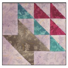 Enchanted Floral Quilt Block of the Month- Block #10