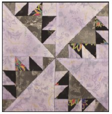 Enchanted Floral Quilt Block of the Month- Block #11
