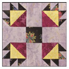 Enchanted Floral Quilt Block of the Month- Block #2