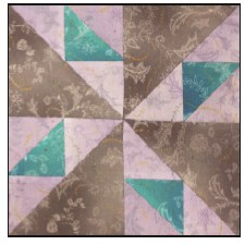 Enchanted Floral Quilt Block of the Month- Block #3