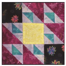 Enchanted Floral Quilt Block of the Month- Block #4