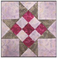Enchanted Floral Quilt Block of the Month- Block #6