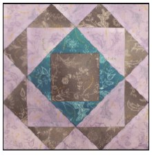 Enchanted Floral Quilt Block of the Month- Block #7