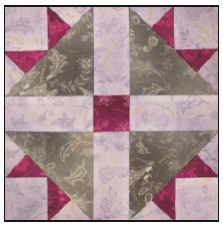 Enchanted Floral Quilt Block of the Month- Block #8