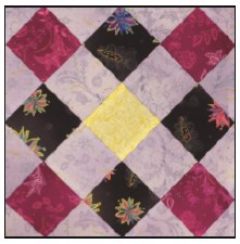 Enchanted Floral Quilt Block of the Month- Block #9