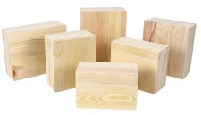 Wood Block Set- 6 pc