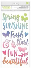 Bloom Street Stickers- Thickers, Puffy Phrases