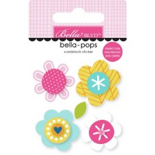 Chloe Bella-Pops Stickers- Blossoms