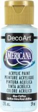 Americana Acrylic Paint, 2oz- Blues: Blue Chiffon