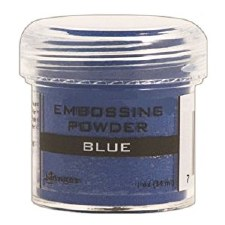 Embossing Powder- Blue